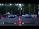 Lamborghini Aventador (stock) vs Lamborghini Huracan (stock) | Unlim 500+,заезд,drag racing,тачка,машина ,автомобиль,супе ркар