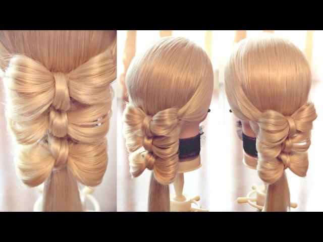 Оформление хвоста - Банты - Hairstyles by REM