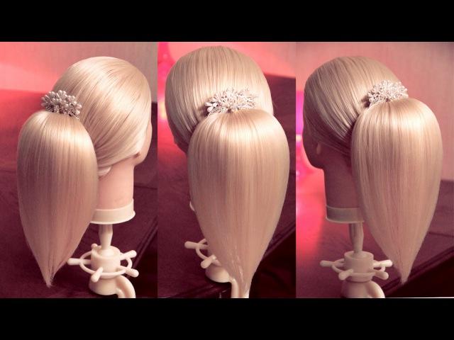 Хвост Капелька | Авторские причёски | Лена Роговая | Hairstyles by REM | Copyright ©