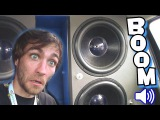 BOOMING BASS Smash UP & BREAKING Scott's Glass Windshield With SOUND | Loudest TDH Subwoofer Systems