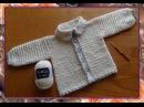Жакет с узором ЗВЕЗДОЧКИ. Часть 1 .Knit crochet - jacket patterned with an asterisk. Part 1 .