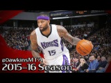 DeMarcus Cousins Unreal Career-HIGH 2016.01.23 vs Pacers - NASTY 48 Pts, Shaq Would Be Proud!