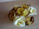 Сладкие розочки выпечка. Sweet rosettes baking