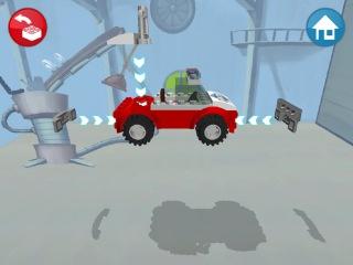 Обзор новой игры LEGO CARS. Качай и играй. Игры для детей