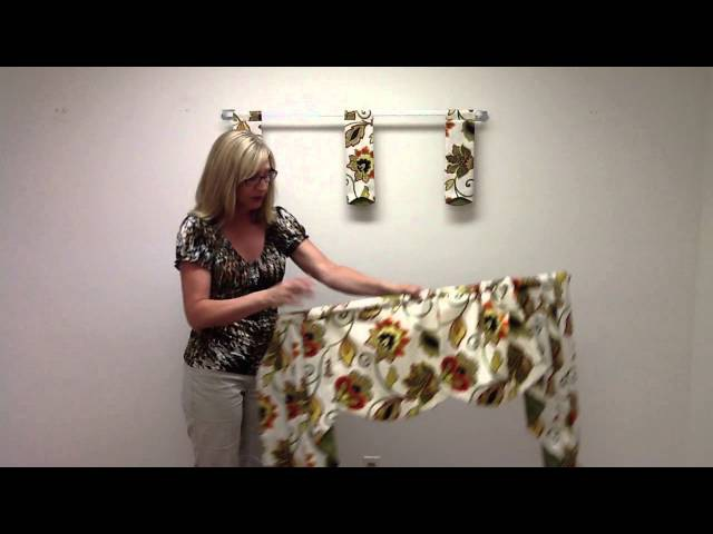 How to Order and Hang a Regal Valance