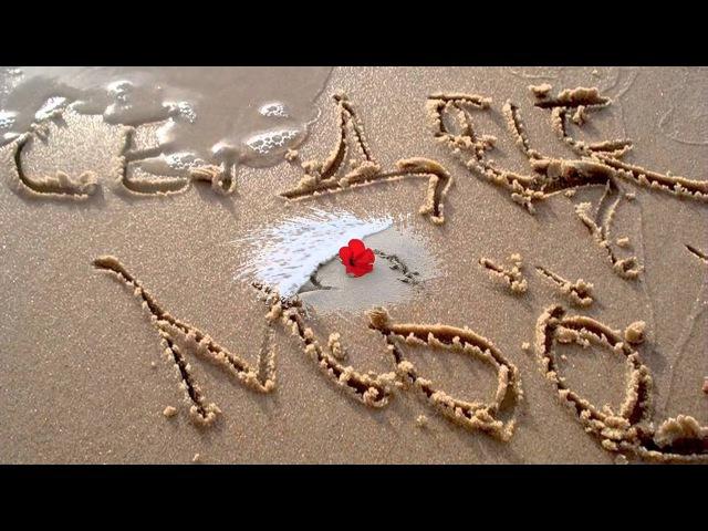 Я готов целовать песок, по которому ты ходила.