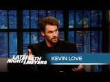 Kevin Love on Posing Naked for ESPN's Body Issue - Late Night with Seth Meyers