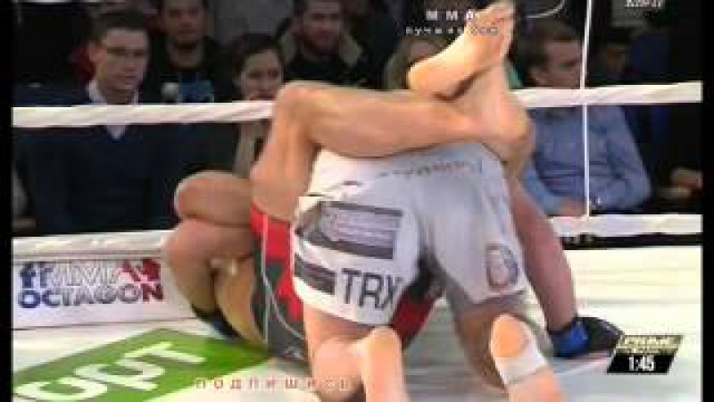MMA чемпионский бой Рамзан Алгериев vs Станислав Клыбик