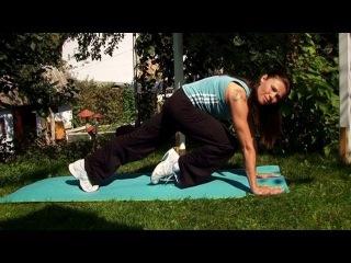 Быстрая зарядка для лентяев: на мышцы пресса и плечевого пояса