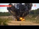 Коллосальный взрыв мощностью 1100 кг саперы прокладывают проход для танков