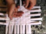 ▬► Плетение из газет квадратного дна Часть II / Basket making
