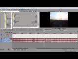Sony Vegas Pro Урок 2 Монтаж, Разрезка, Склейка