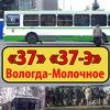 """Автобусы 37 и 37-Э """"Вологда-Молочное"""""""