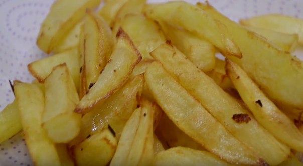 Как сделать чтобы картошка фри была хрустящей