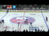 Blackhawks at Islanders / Game Highlights 10.09.2015