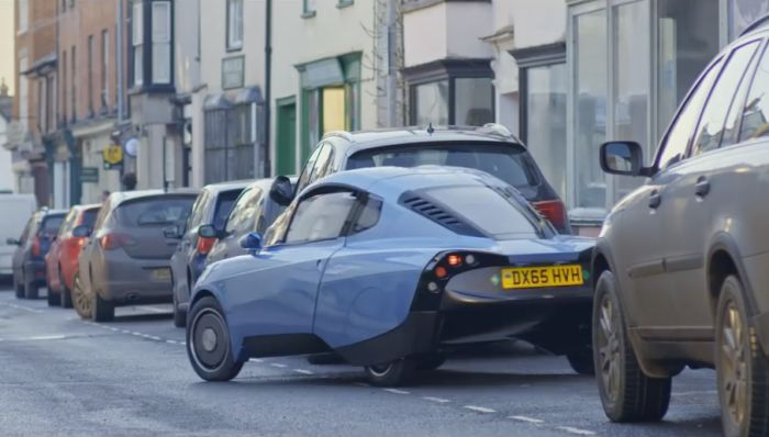 В Великобритании создали легкий автомобиль на водороде