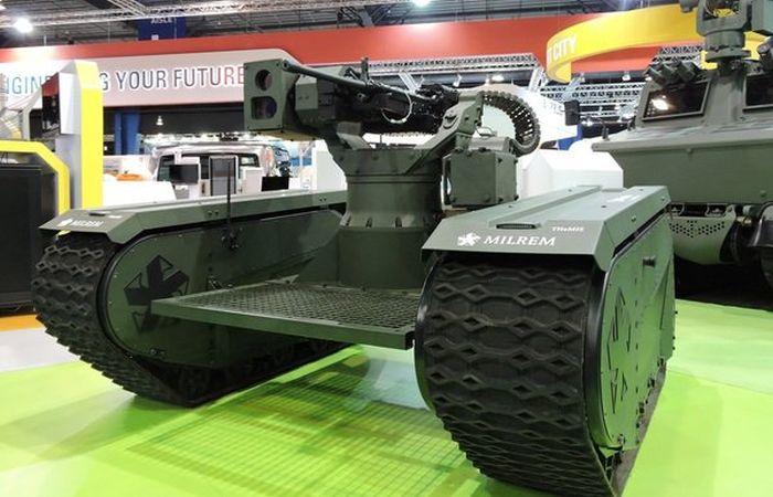 Эстонцы представили боевой робот-трансформер