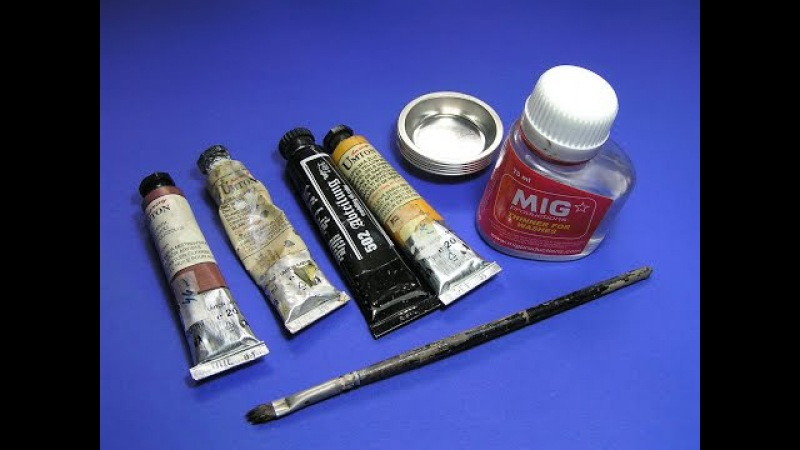 How to Use Washes Oil, Tamiya panel line accent color, Citadel - Great Guide Plastic Models