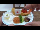 MiniFood Okosama Lunch  食べれるミニチュアお子様ランチ /Variety-full! Miniature Japanese Kid's Lunch