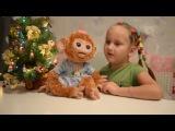 Обзор игрушки Обезьянка Furreal friends. Дети. Интерактивные игрушки