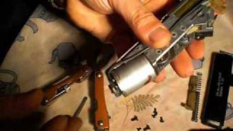 Desmontar desarmar disassembly glock 18C CYMA