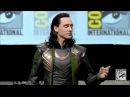 Tom Hiddleston as LOKI русские субтитры(FULL appearance)-Comic-Con 2013