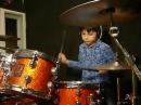 ALEX Perkusista 8 lat (8yo drummer) - AMBERIAN DAWN Court of Mirrors - drum cover