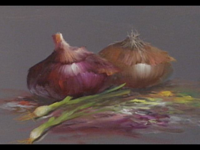The Beauty of Oil Painting Series 1 Episode 22 Onion Still Life