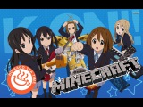 NEW ERA Minecraft K-On HTT - Fuwa Fuwa Time