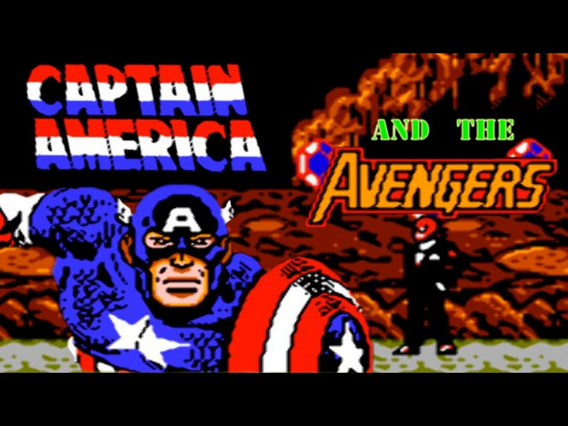 Captain America and The Avengers прохождение (NES, Famicom, Dendy)