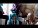 Vocaloid music HOSTEL/Музыкальное общежитее Вокалоид. 1 серия.