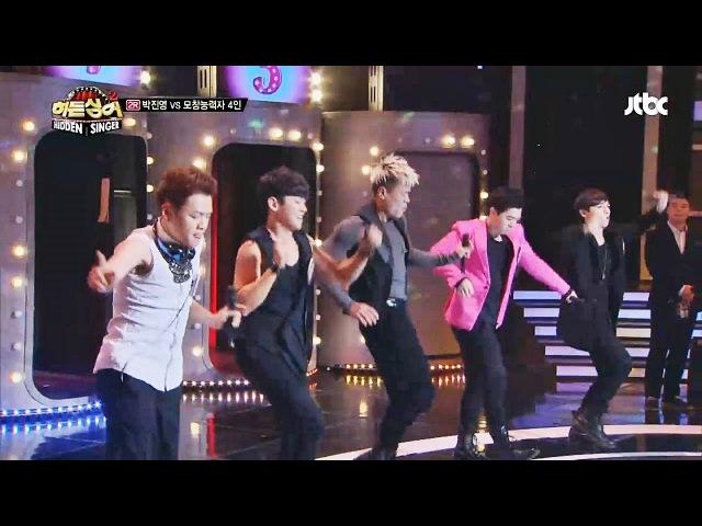 14 дек. 2013 г.'Honey(허니)' 후반부! 이어지는 댄스타임~! - 히든싱어2 10회 박진영(JYP) 편