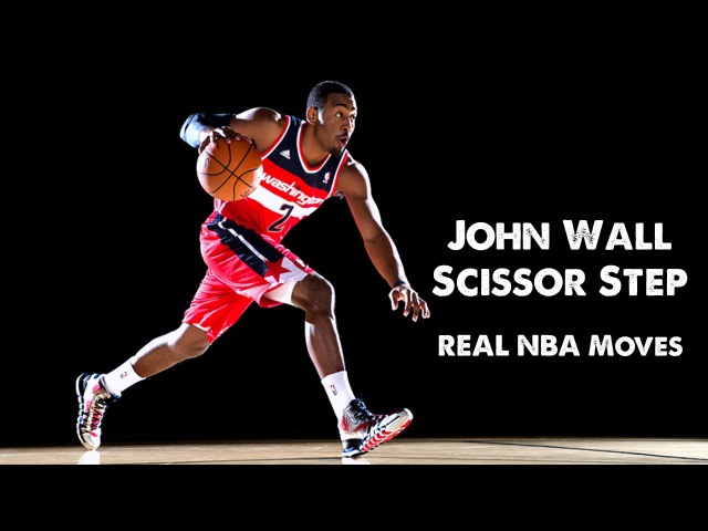 Real NBA Moves: John Wall Scissor Step (featuring Zach LaVine)