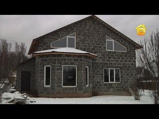 Дом из арболита: острые углы первой стройки // FORUMHOUSE
