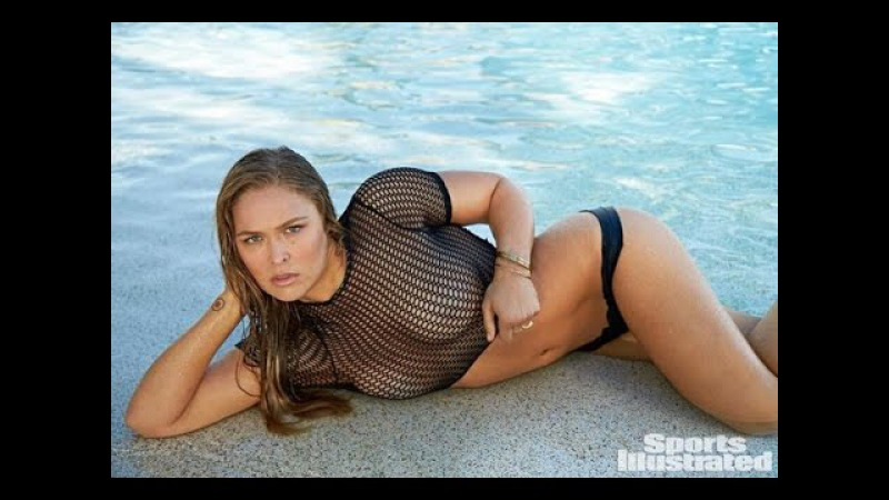 Ronda Rousey Nude Body Painting Sports Illustrated 2016
