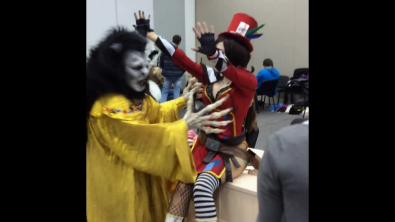 Dracula and Mad Moxxi Kiberfest 2015