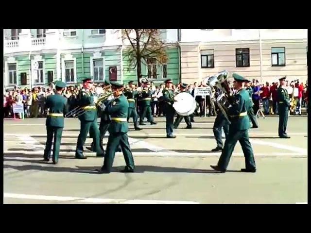 Военный оркестр Киров фестиваль духовых оркестров Фанфары Победы Нижний Новгород
