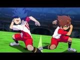 Inazuma Eleven GO vs Danball Senki W ( Fire Tornado DD, Inazuma Break and Last Death Zone ) HD