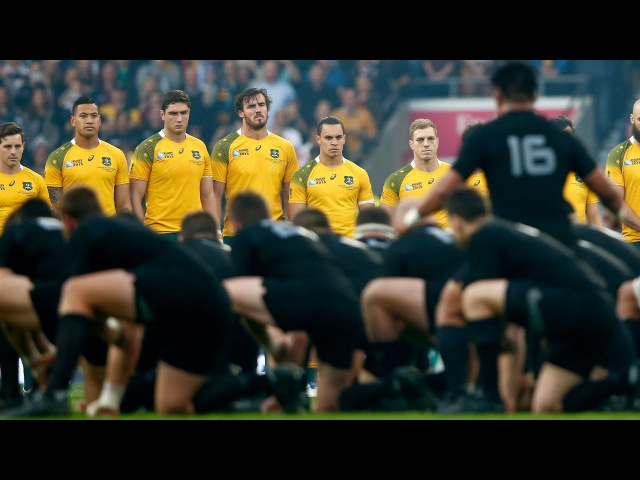 Fearsome All Blacks haka Rugby World Cup 2015 final v Australia