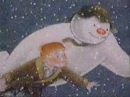 The Snowman Walking in The Air