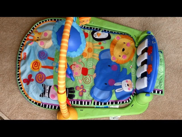 Fisher Price Kick Play Piano Gym Disassembly Limitations