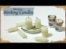 Miniature Candles that work Dollhouse Tutorial