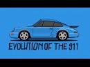 Evolution of the Porsche 911 | Donut Media