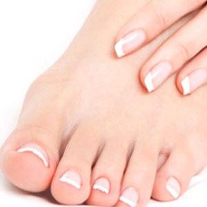 Срез ногтевых пластинок или чешуйки эпителия на онихомикоз