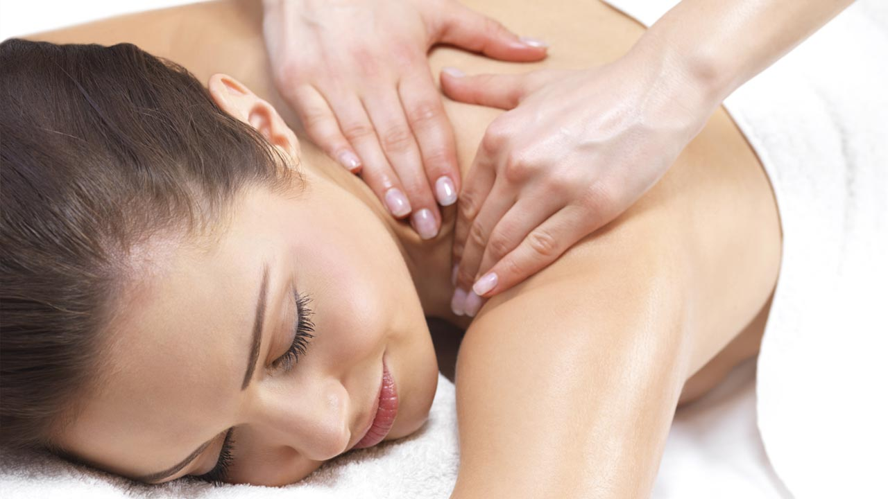 Медовый массаж живота