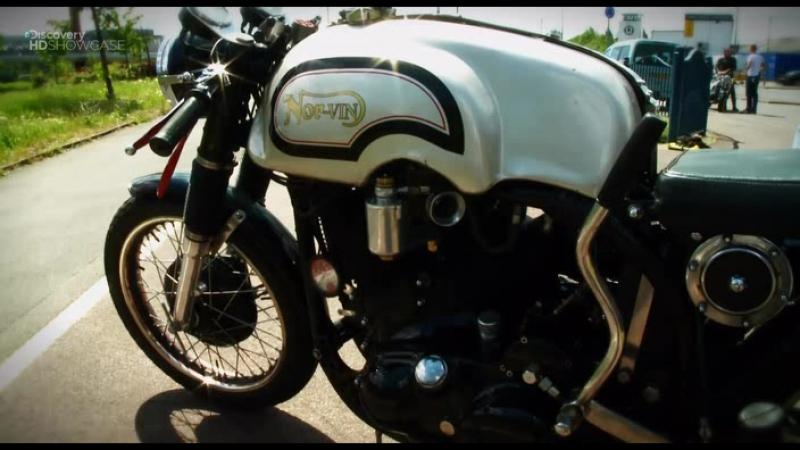 Discovery Гоночный мотоцикл Cafe Racer 1 сезон 6 серия