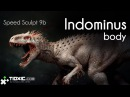 Speed Sculpt 9b - Indominus Rex part 2