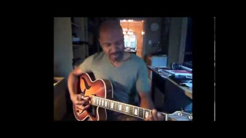 Bobby Broom solo guitar- Stella by Starlight