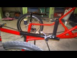 Home made recumbent trike-Dragan