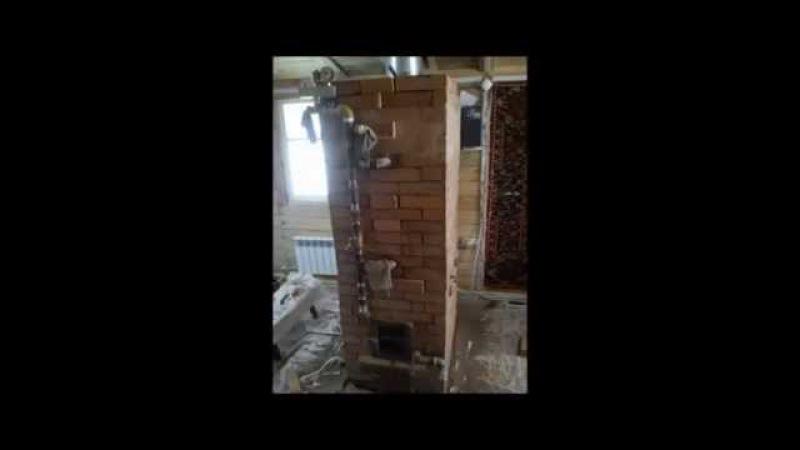 Угольно дровяная печь - котел длительного горения 2014